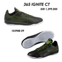 Sepatu futsal / putsal footsal puma original 365 IGNITE CT black stab