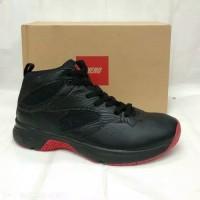 Sepatu Basket Piero Commander Black/red original