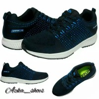 Sepatu Running & Fashion Spotec Alpha - Navy