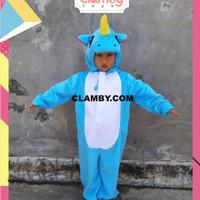 Baju Kostum Anak Karakter Kuda Poni Unicorn Murah Pesta Kostum