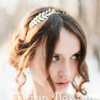 bando hairband swarovski wedding aksesoris pernikahan cantik