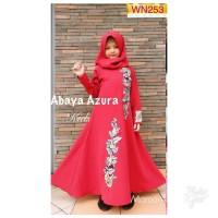 Gamis Anak Abaya Azura Kids