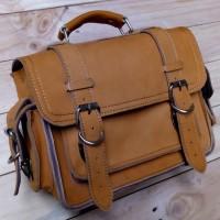 side bag leather,tas motor w175 dan estrella