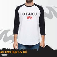 Kaos Anime KJZ CS 01 |T-shirt Otaku Raglan | Belakang Polos