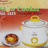 MASPION SLOW COOKER MSC 1825 Temurah