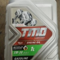 Oli Mesin Mobil Toyota TMO Hijau Full Synthetic 5W-30 1 Liter