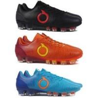 JF Ols Sepatu Bola OrtusEight Catalyst Oracle FG - Black , Ortrange ,
