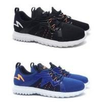 JF Ols Sepatu Lari Running Specs Prelude - Black & Navy Original