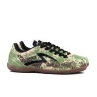 JF Ols Sepatu Futsal Specs Geronimo IN - Cocoon Wallnutt Original