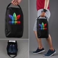Tas Sepatu Bola Futsal Grade Ori Adidas Rainbow