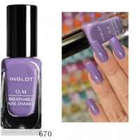 Inglot 670 - Kutek O2M Halal Nail Polish