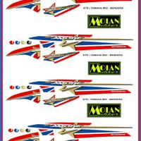 Sticker Striping Variasi Thailand Thailook Mio Sporty (MIO AMORE FLAG)