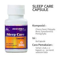 obat Sleep Care Green World/ Insomnia / green world