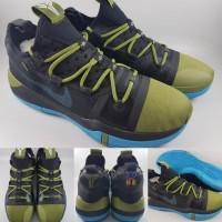 Sepatu Basket Nike Kobe A.D Exodus Black Army Green Blue Hitam Hijau