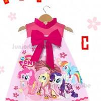 dress imlek anak perempuan karakter little pony baju congsam anak