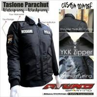 Jaket Bomber Parasut Parasit Taslone Premium POLISI-Army-Jokowi-Pilot