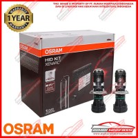 OSRAM - HID XENARC CONVERSION KIT - H4 - 6000K - 12V - 35 WATT - PUTIH