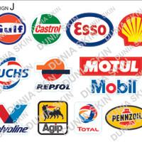 Travel Label / Sticker Koper Rimowa Design J Gasoline Repsol Design