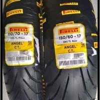 Paket Ban Pirelli Angel City 150/60 dan 110/70 Ring 17 For Sports