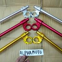Stang jepit clip on byson ninja 150 250 rr vixion scorpio replika nui
