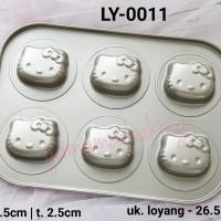LY-0011 Loyang teflon mini cake hello kitty import berkualitas