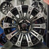Velg Mobil Ring 15 HSR SAHARA Hole 5 PCD 5x114,3 Black Polish Yankee
