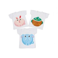 Kaos Oblong Bayi Bergambar size XL/Kaos Anak/Baju Bayi/Atasan (Sablon)