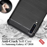 Anti Crack Soft Case Samsung A7 2018 Softcase Silikon Casing Cover Gel
