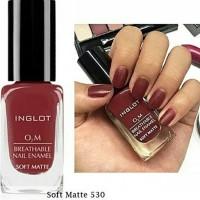 Inglot 530 Matte - Kutek O2M Halal Nail Polish