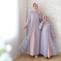 JF - Azkera Brukat Couple Ibu dan Anak import quality -- baju gamis