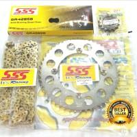 Gear set SSS KLX 150 / D tracker Termurah - 39s/d40