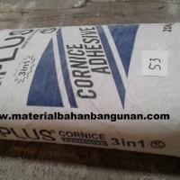 compound cornice a plus per Kg finishing plafon gypsum compon dempul