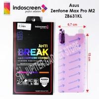 Indoscreen Antigores Anti Break Asus Zenfone Max Pro M2 ZB631KL -Clear