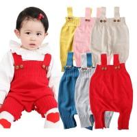 Baju Bayi Rajut Hangat |Romper Jumpsuit (Baby Sweater Solid Jumpsuit
