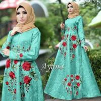 Maxi Dress Muslim Ayana Umbrella Syari Balotelli HQ - Turkish