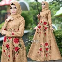 Maxi Dress Muslim Ayana Umbrella Syari Balotelli HQ - Coksu