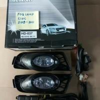 Fog lamp Foglamp Lampu Kabut Honda Civic 2009-2010-2011