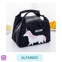Lunch Bag Set Tas Makan Anak ANIMAL TM015 Cooler Murah Tanpa Ice Gel