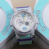 Jam tangan CASIO Baby-G BGA-180-3B Tosca Putih G-Lide BGA180 Ori BM