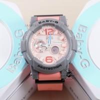 Jam tangan Baby-G BGA-180-4B2 Pink Abu-Abu BABYG BGA180 G-LIDE Ori BM