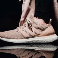 Sepatu Adidas Ultra Boost 4.0 Champagne Pink / Sneakers Women Premium