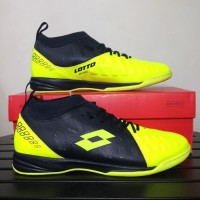 Sepatu Futsal Lotto Energia IN Safety Yellow Original