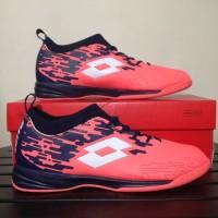 Sepatu Futsal Lotto Veloce IN Bright Peach Original