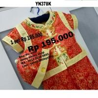 #YN378K Chongsam anak cowok baju imlek