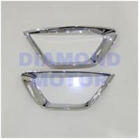 Datsun Go Go+ List Lis Garnis Cover Ring Chrome Foglamp Depan
