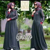 Baju gamis muslim wanita mini dress new casual santai Berkualitas