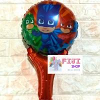 Balon Foil Tongkat / Pentung PJ Masks