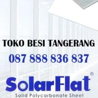 SOLARFLAT 3mm Atap Polycarbonate Solid - SOLAR FLAT UPVS PVC 3 mm