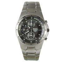 Seiko Titanium SND419P1 / SND419 Chronograph Watch Original