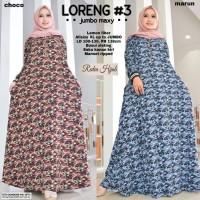 baju wanita gamis loreng#3 muslim modern modis unik lucu trendi